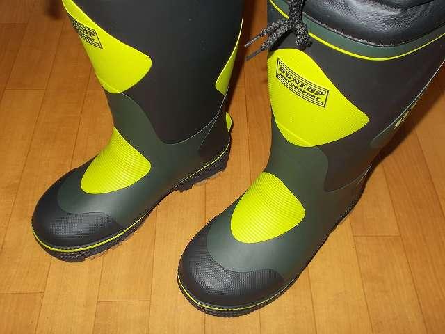 DUNLOP DOLMAN MOTORSPORT ダンロップ ドルマン G298 軽量防寒長靴 開封