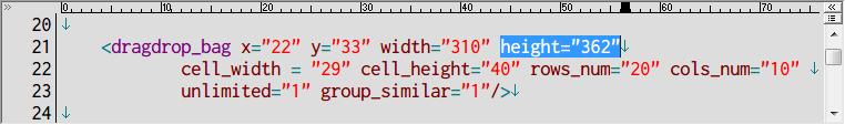 S.T.A.L.K.E.R Shadow of Chernobyl インベントリ改造 Mod、インベントリ画面下 2行がクリックできない問題、inventory_new_16.xml の height の数値を下げて2行分非表示にすることで解決