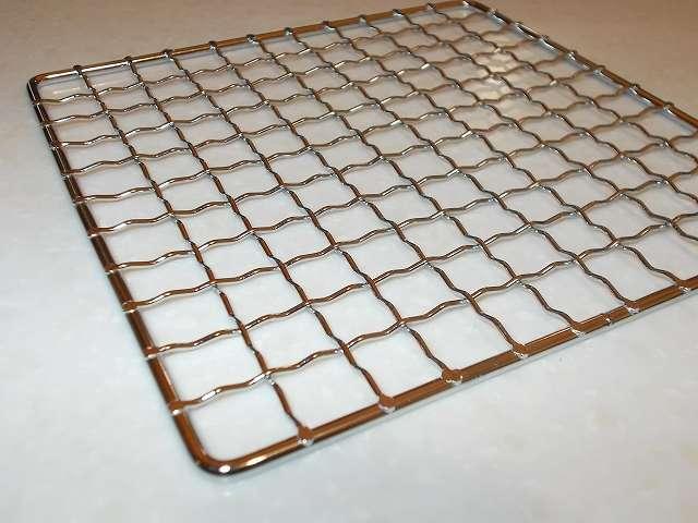 パール金属 懐石 卓上コンロ用 焼網 15cm H-6476 表面網目