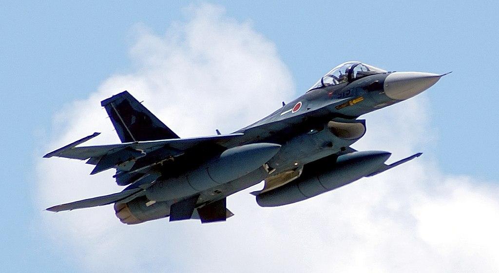 日米共同訓練コープノース2007(2007年6月11日~22日開催)に参加した第3飛行隊所属のF-2A