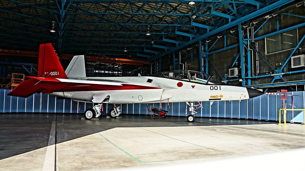 岐阜基地にて一般公開されたX-2