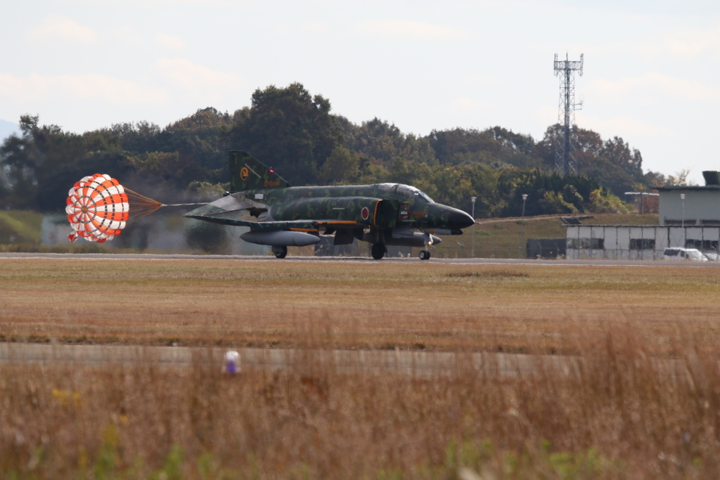 F-4EJ(改)の着陸_7