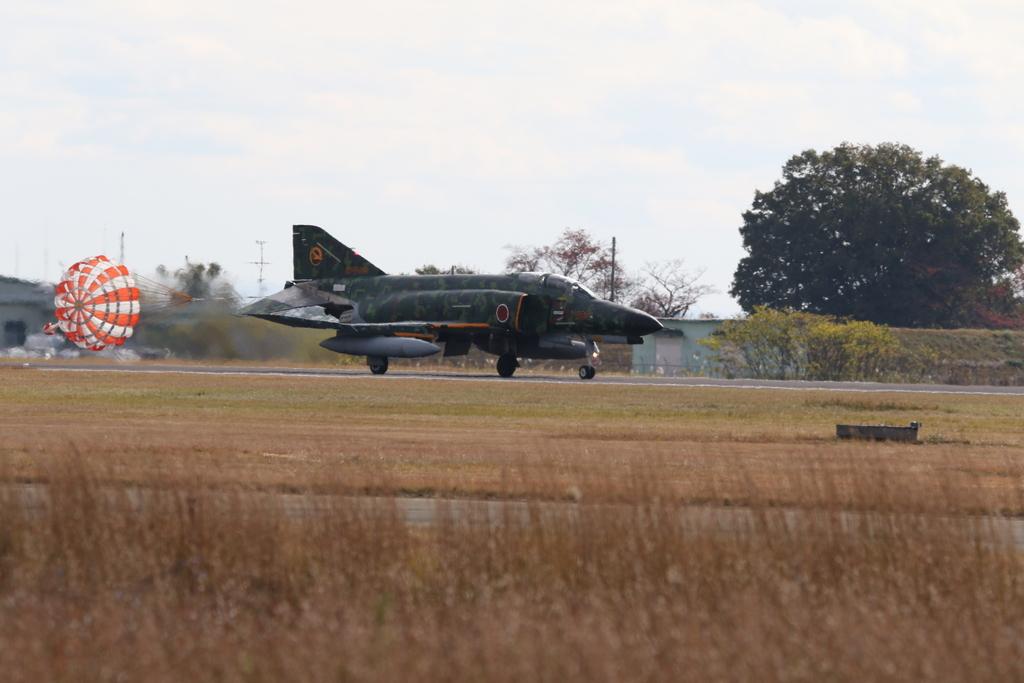 F-4EJ(改)の着陸_8