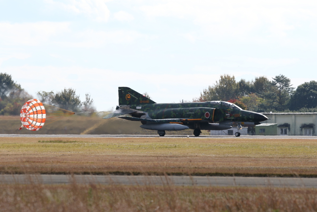 F-4EJ(改)の着陸_9