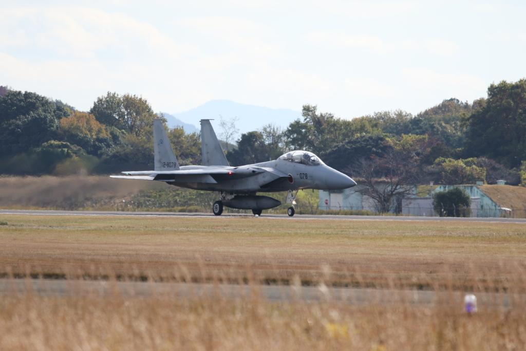 F-15J/DJの着陸_7