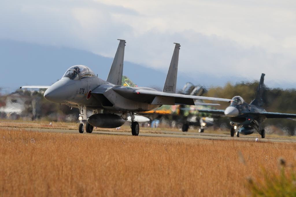 F-15J/DJとF-2A/Bとの2ショット_3