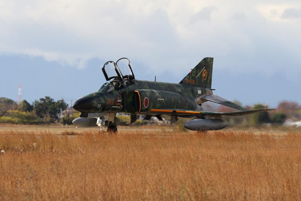 F-4EJ(改)の着陸_12
