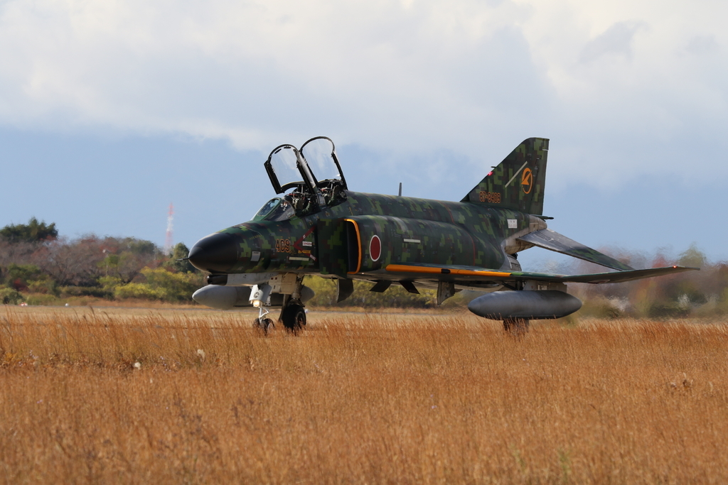F-4EJ(改)の着陸_14