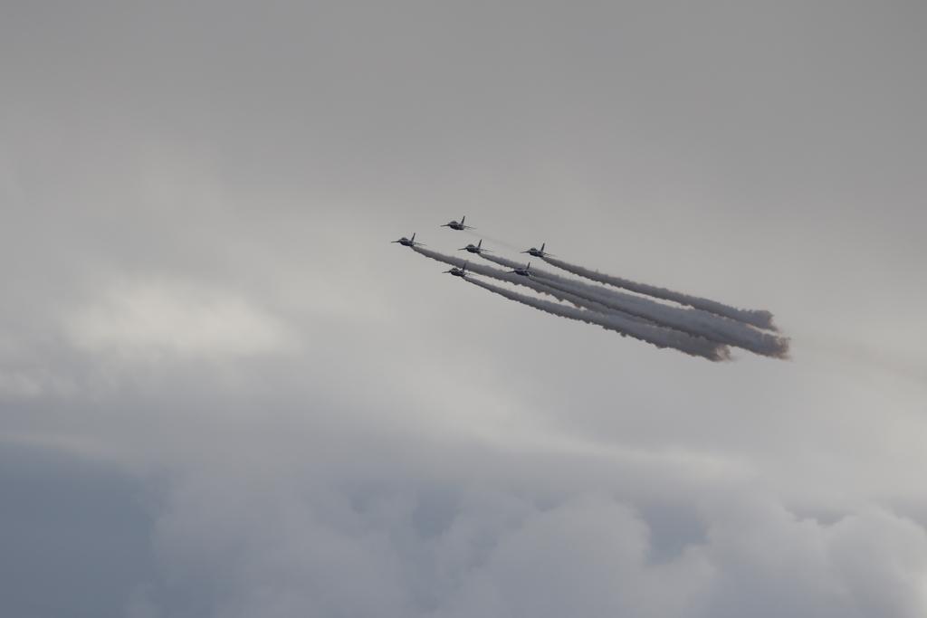 ブルーインパルスのアクロバット飛行(3)_42