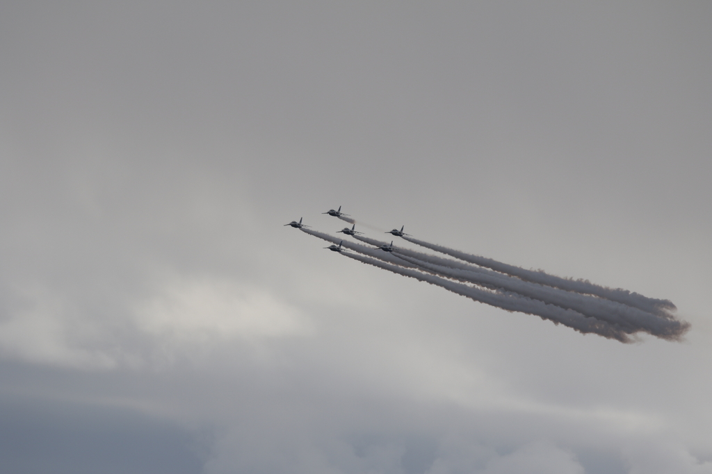 ブルーインパルスのアクロバット飛行(3)_44