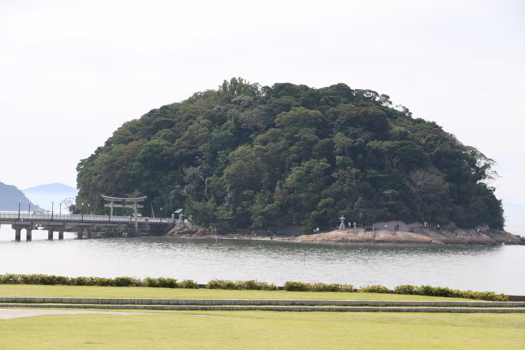 竹島が見えてきた_2