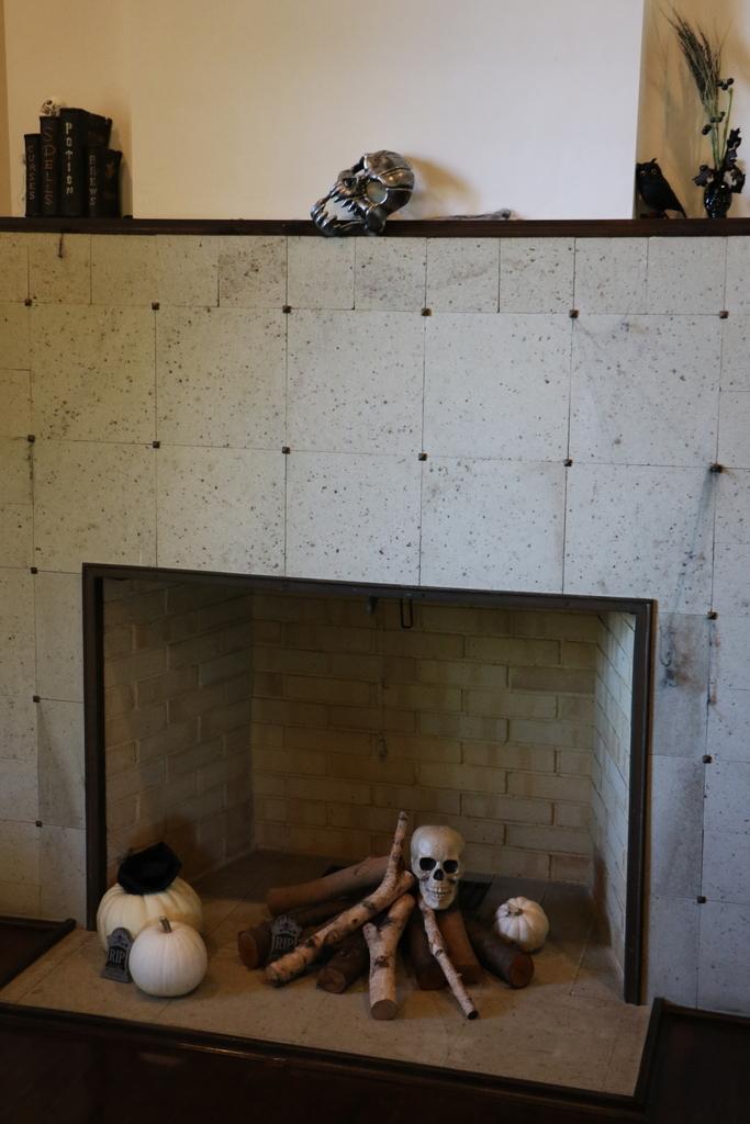 エリスマン邸_ハロウィンの飾りつけ_5