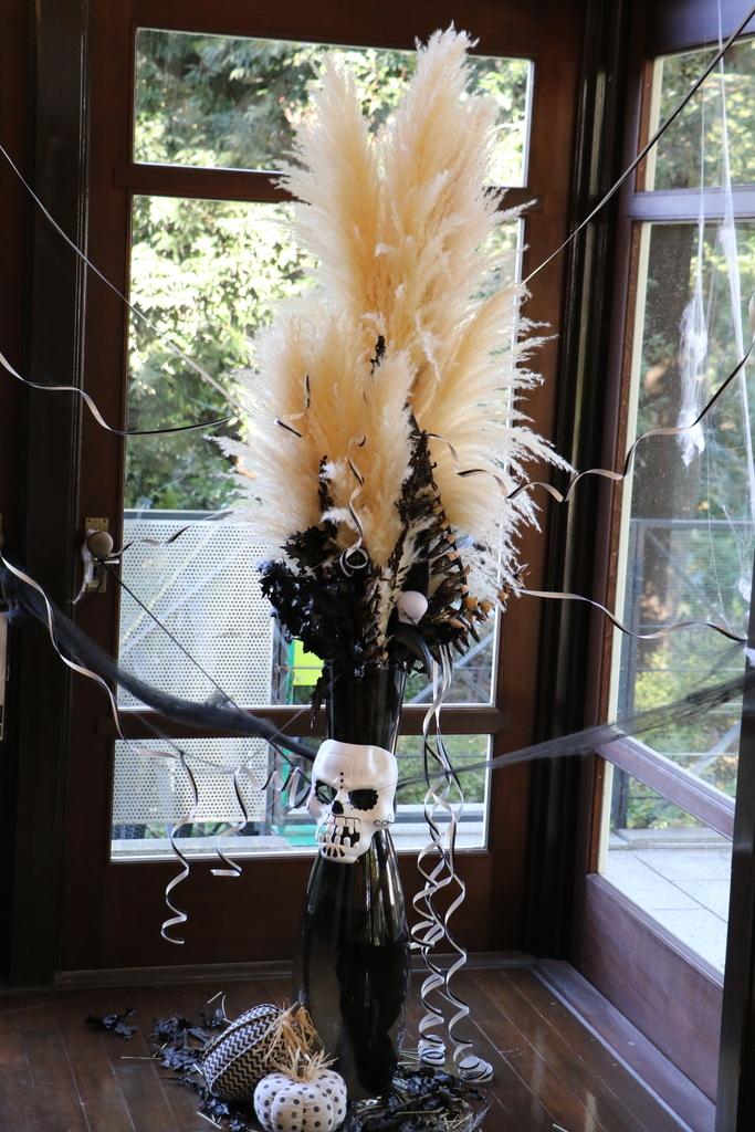 エリスマン邸_ハロウィンの飾りつけ_8