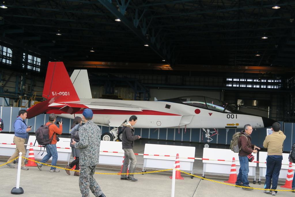 先進技術実証用の実験航空機X-2_5