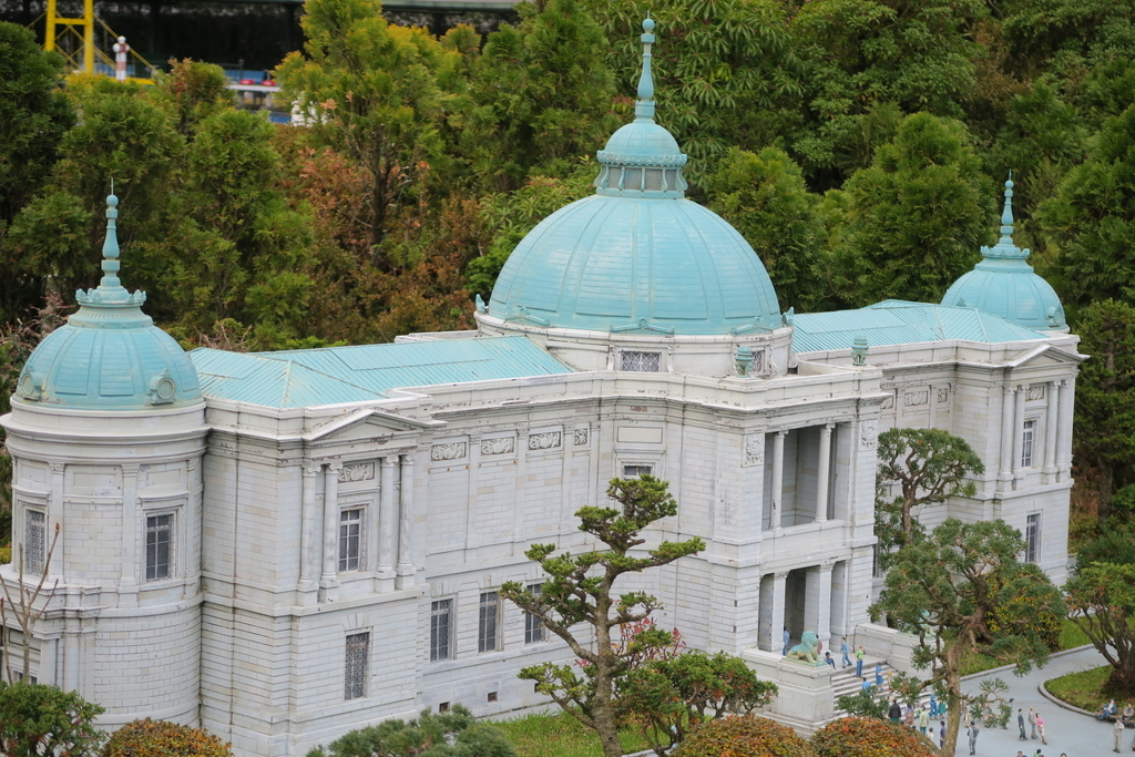 東京国立博物館・本館と表慶館_3
