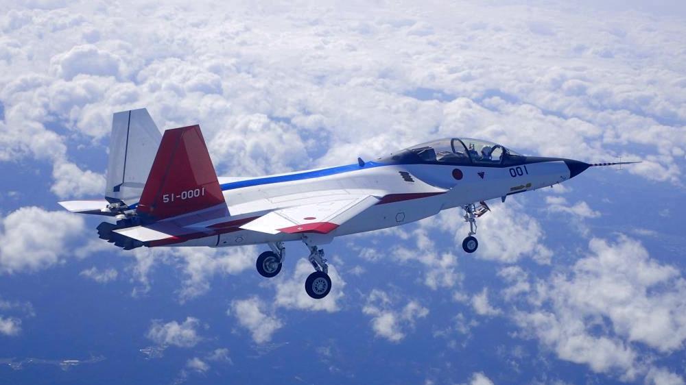 X-2(先進技術実証機)の初飛行