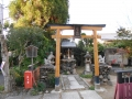 171209粟田神社の末社、鍛冶神社