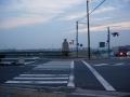 171104日の出前の御幸橋
