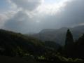 171122木津川の谷あい笠置方面の山々