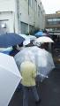 171021雨の中期日前投票の行列