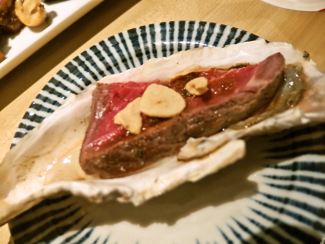 かき鐵 牡蠣肉