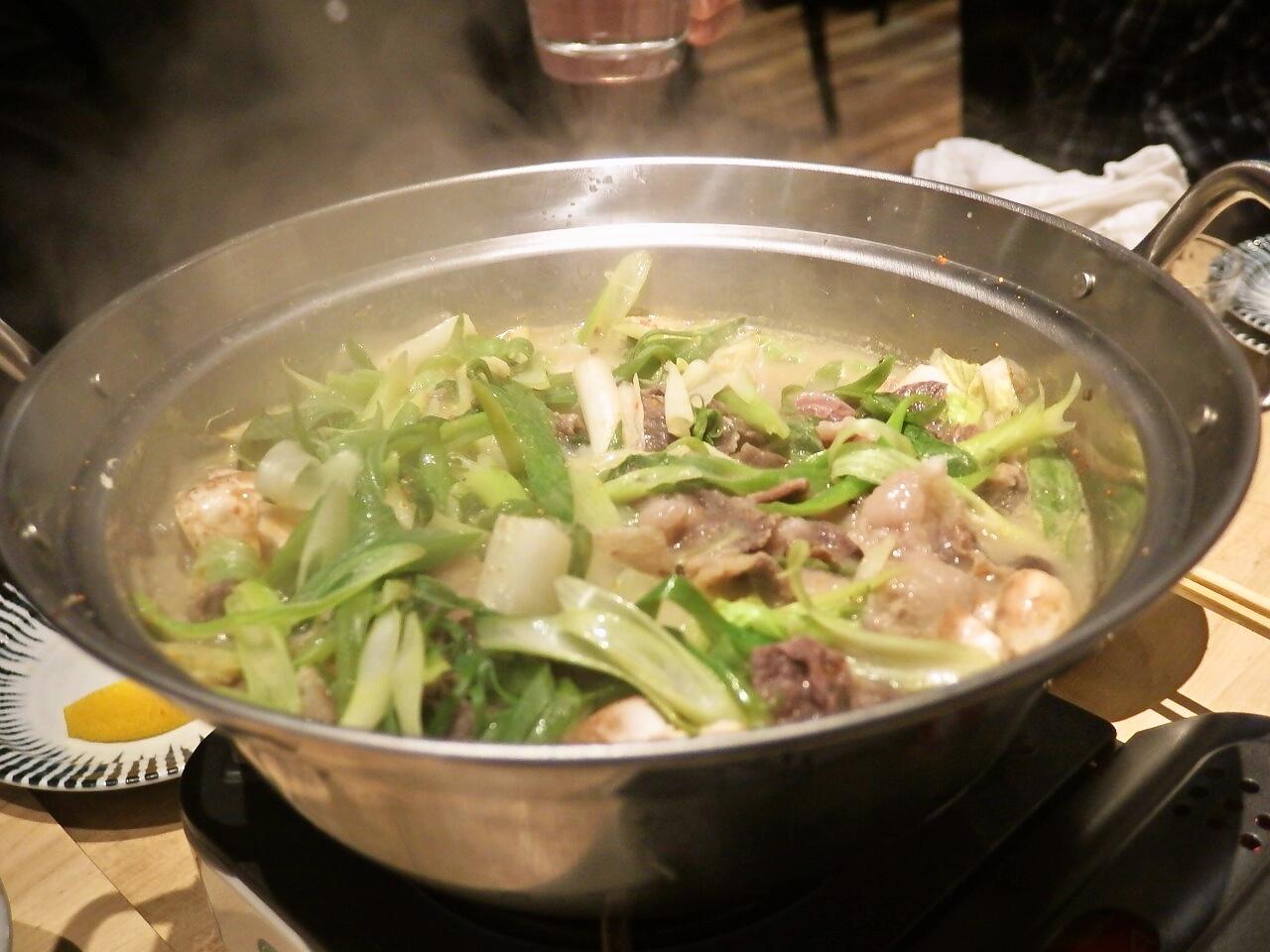 かき鐵 肉鍋2