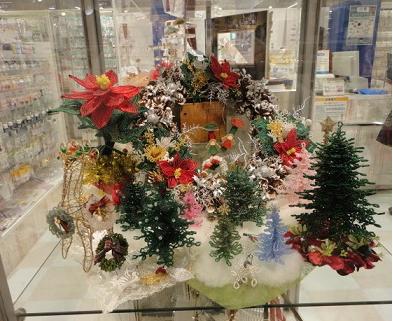 上本町近鉄トーカイでの11月展示