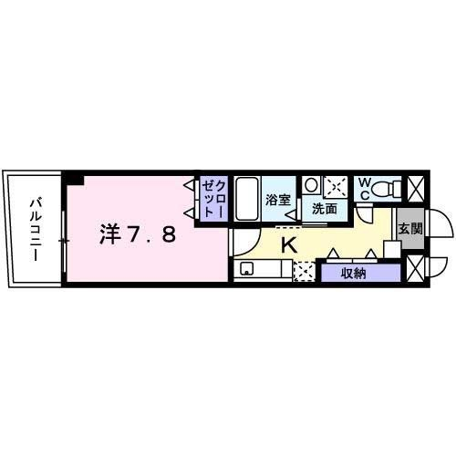 グランツシェーネ(建託)2号室