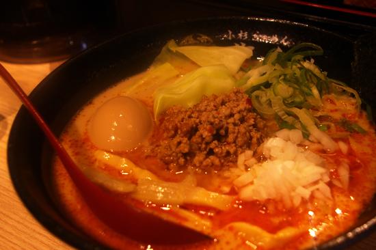 味玉担々麺