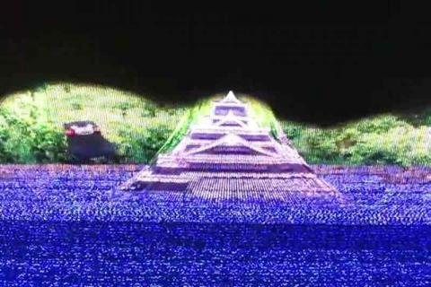 なばなの里 イルミネーション 2017-20184