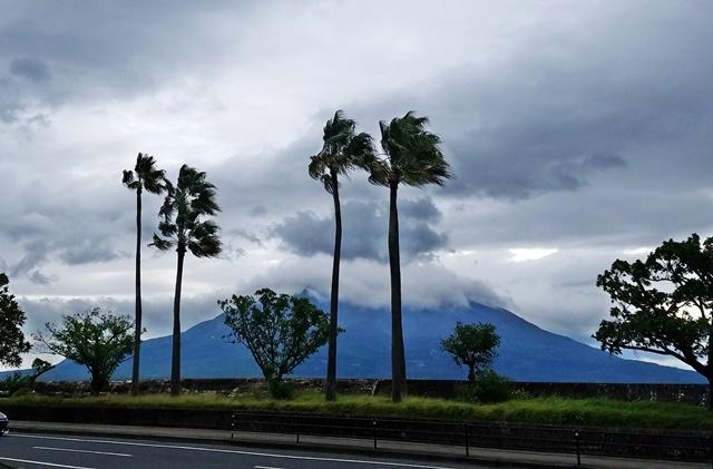 台風接近2