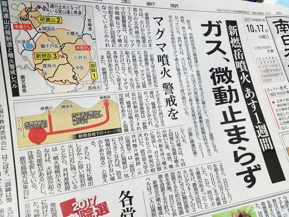 新燃岳噴火1-5