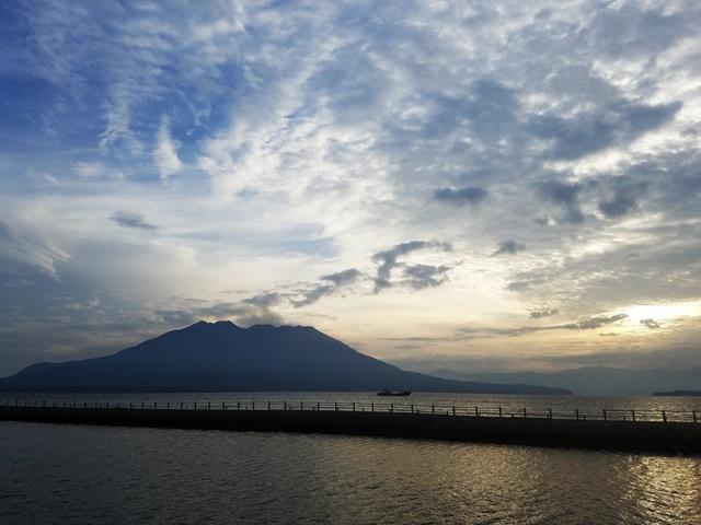 朝の桜島2-1