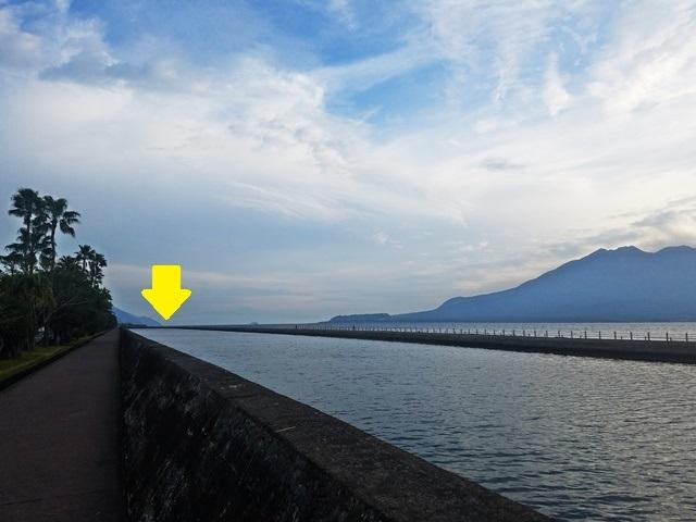 朝の桜島2-3