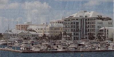 バミューダ諸島・ハミルトン港