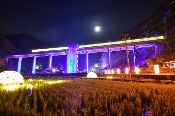 宇都井駅イルミ(5)