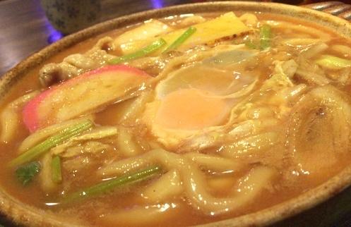 柿崎味噌うどん (1)