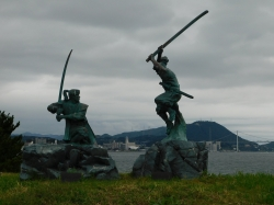 武蔵と小次郎1