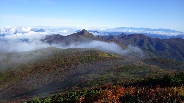 三本槍岳山頂からの眺望