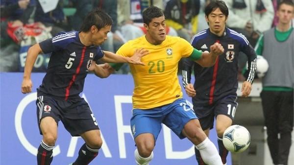 ブラジル対日本2