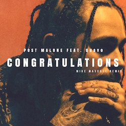 Post Malone Congratulations