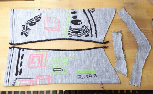 ダニエラGRAYニット袖丈9