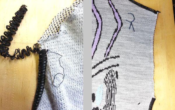 ダニエラGRAYニット袖丈11