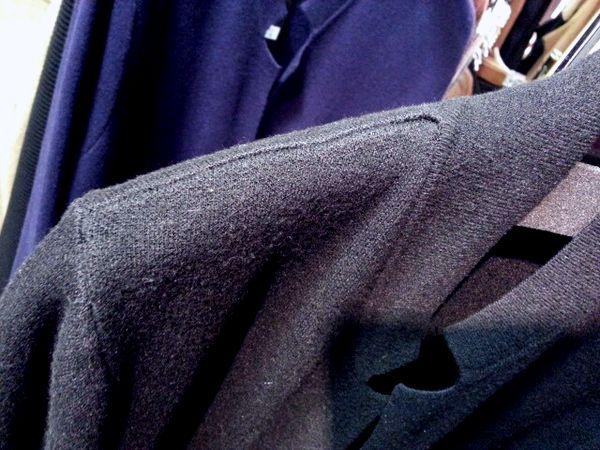 ニットジャケット肩幅セット1