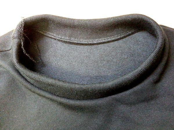 cop袖オーガンジートップ襟の高さ6