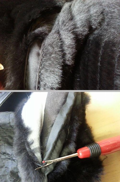 ウィーゼルコート袖丈4