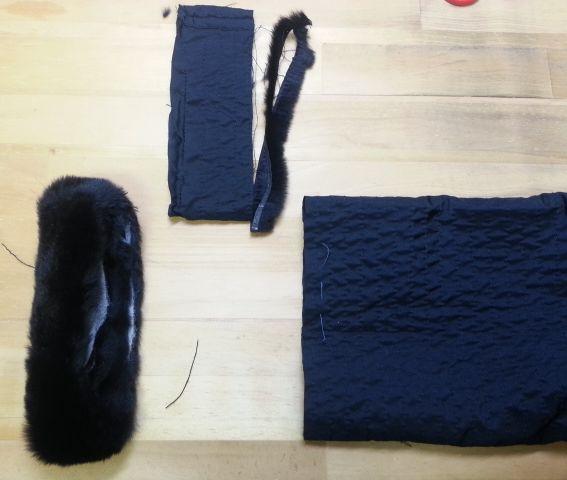 ウィーゼルコート袖丈8