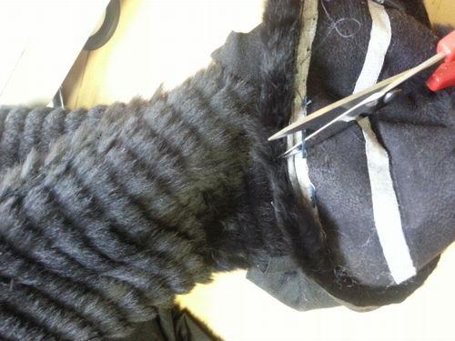 ウィーゼルコート袖丈16