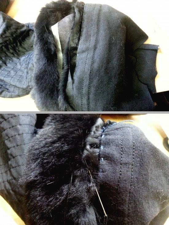 ウィーゼルコート袖丈17