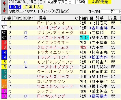 17赤富士S